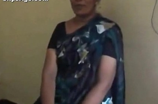 Indian desi teacher aunt stripping and engulfing dong of her co-worker mms - indian sex vids