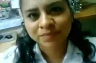 Coeval Indian office sex mms of hot secretary - Indian Porn Videos