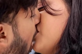 Monisha Chowdhary Adventuresome lip lock Scenes Bluemoon MMS FuckClips.net