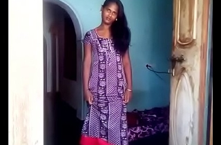 Indian Girl in all directions Nighty