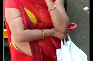 GADRAYI MARWADI RAAND KI SEXY Something determine a escape it RED SAREE  2