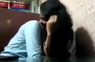 Indian University girlhood fun in vestibule