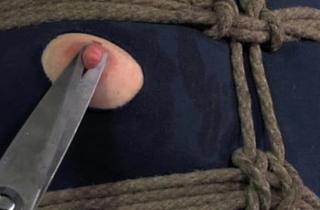 Crotch rope slavery strumpets costume inundate