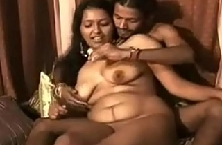 Indian XXX bhabhi feeding her tighten one's platoon fetching milk