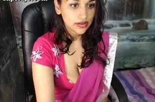 Indian Hot Desi Hottie Nandani full nude webcam video clip - Wowmoyback