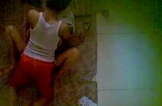 Indian Indonesia Hawt little Couple sex secretly at one's disposal bedroom - Wowmoyback