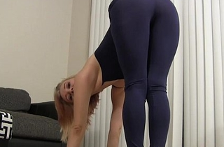 Those tight raven yoga pants are making me kind of horny JOI