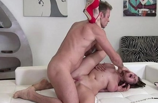Beautiful Marina gets banged hard doggystyle almost the ass off out of one's mind Rocco