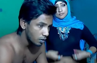Freshly Unavailable South Indian Couple thither Ultra Hot Babe WebCam Represent (7)