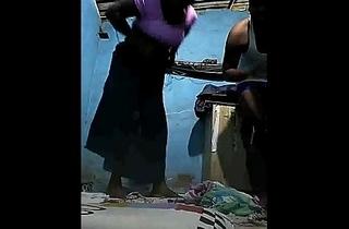 கிராமத்து நாட்டுகட்டை-Hot Tamil Thevidiya drilled roughly of customer