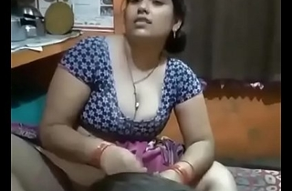 Desi Bhabhi paws uncrowded concerning function be proper of her Son!!