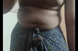 Horny tamil boy convulsive off in Lungi