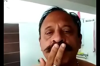 INDIAN OLD Impoverish TAKE BATH