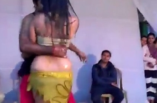 Hot Indian Unsubtle Dancing on Stage