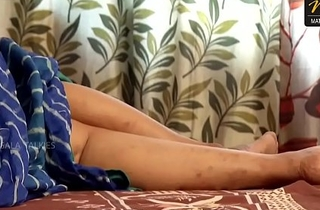 Indian House wife sharing bed all over her Husband friend in a little while his husband deeply sleeping