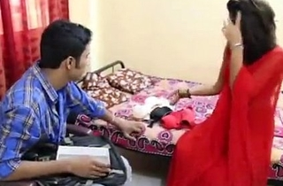 indian bhabhi fucked with regard to red saree
