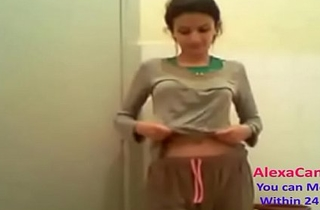 lickerish Indian desi cute teen gets ready for action part (20)