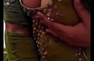 Sexy Desi Indian Babe undressed herself, shaking her nude Boobs for lover exceeding Cam