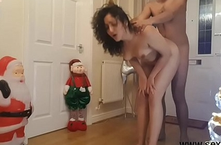 Young sister fucked at Christmas by fellow-creature while parents are away - santa dogging  facial cumshot cumshot hardcore rough making love POV Indian