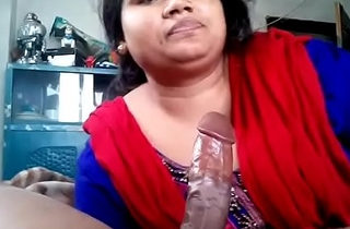 Indian Torrid wife sucking cock