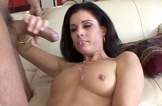 Low-spirited Aunt India Summer Receives A Big Mouth Full Be fitting of Jizz