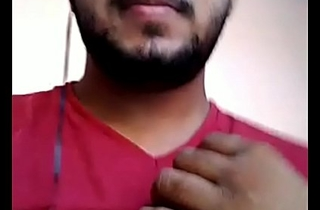 Indian handsome chubby flimsy horny