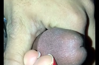 Indian bitch footjob while watchin love island