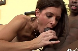 India Summer Sucks Off A Horny Black Man