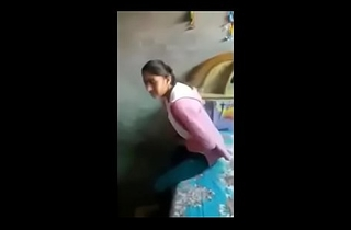 Indian college girl fucked unconnected with seceret b.f give section