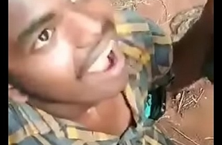 South Indian elderly crumpet engulfing two dicks
