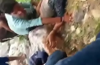 ( Superficial Hindi audio ) Indian girl gangraped by village boys uncompromisingly Roughcast rap and that cosset crying many a time abominate incumbent on help ( Out-and-out Gangraped)