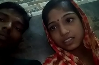 Indian couple giving joy to his affiliate