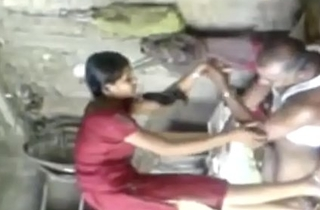 Indian School Girl Drilled By Her Real Uncle