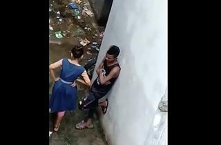 Indian School Dame Hidden In Backside