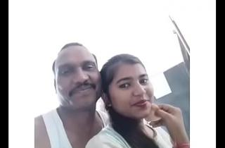 Indian  policeman fuck whore girl alongside hotel