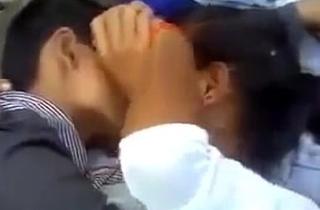 Indian University Prepare Couples Having Fun Alfresco