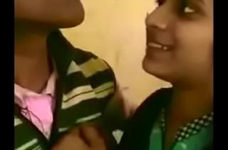 Bihar Nawada Wickey Master Smooch Giving a kiss With Khusbu Down Classroom